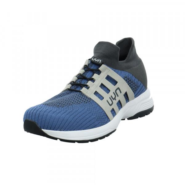 UYN Herren Nature Tune Blauer Textil Sneaker - Bild 1