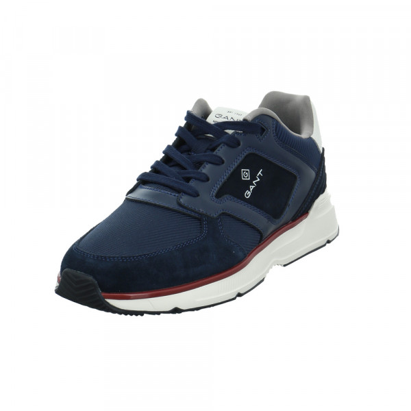 Gant Herren 22633622 Blauer Leder/Textil Sneaker Blau - Bild 1