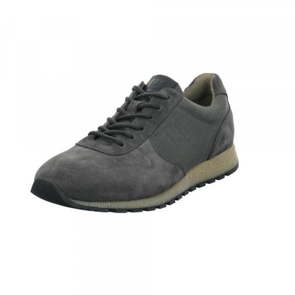Pius Herren 0496.10.02 Grauer Leder/Textil Sneaker Grau - Bild 1