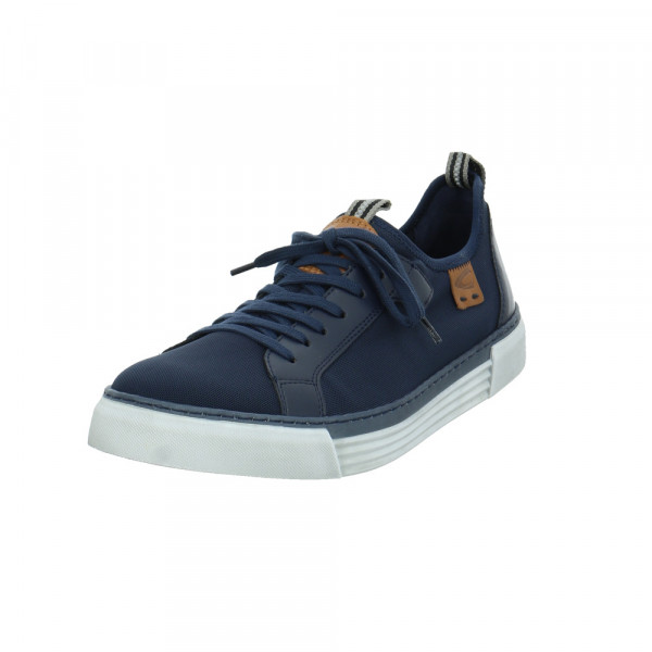 Camel Active Herren Racket Blauer Synthetik/Textil Sneaker Blau - Bild 1