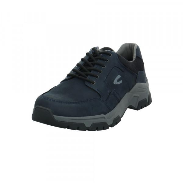Camel active Herren Zodiac Blauer Leder/Textil Sneaker Blau - Bild 1