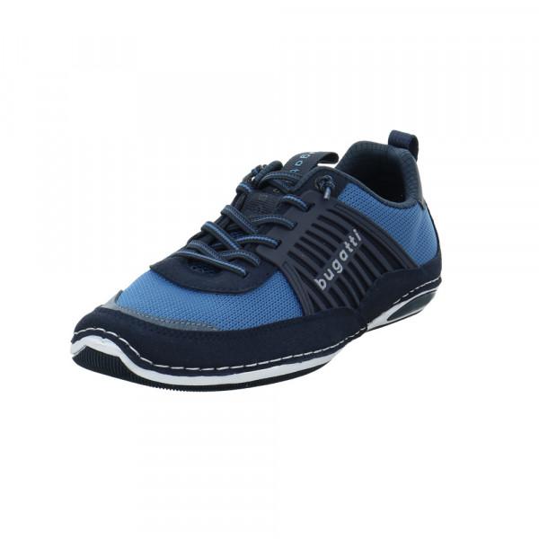 Bugatti Herren 321-A3E02-5054-4140 Blauer Materialkombinierter Sneaker Blau - Bild 1