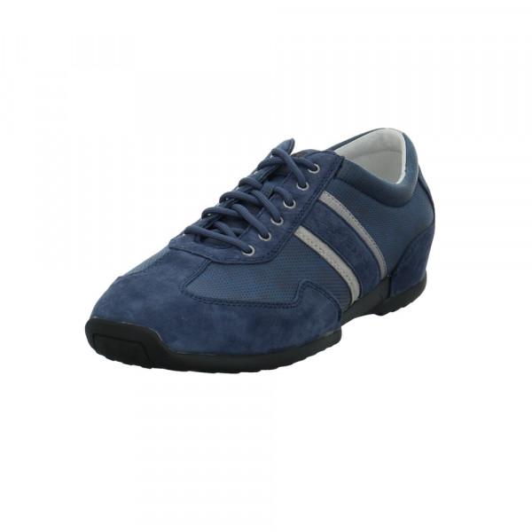 Gabor Pius Herren 0137.12.02 Blauer Veloursleder Sneaker Blau - Bild 1