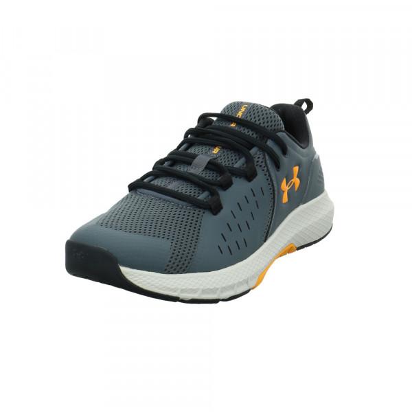 Under Armour Herren Charged Commit TR 2.0 Grauer Materialkombinierter Sneaker Grau - Bild 1