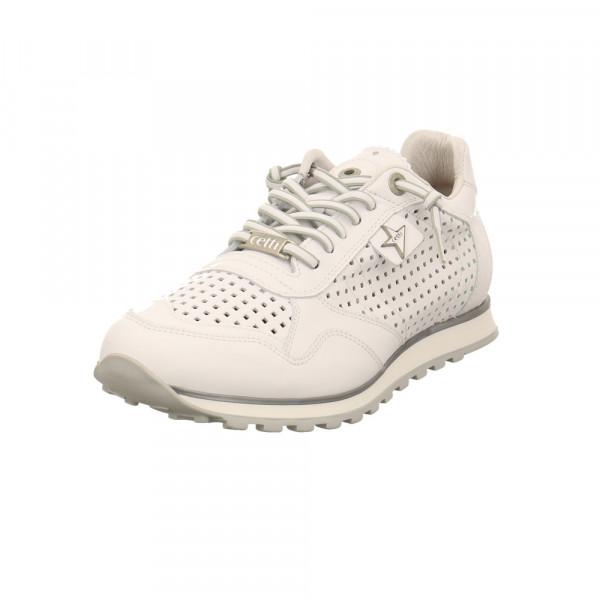 Cetti Herren C848/BLANCO Weiße Glattleder Sneaker Weiß - Bild 1