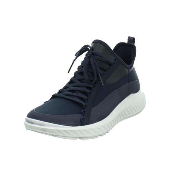 Ecco Herren ST. 1 Lite M Blauer Textil Sneaker Blau - Bild 1