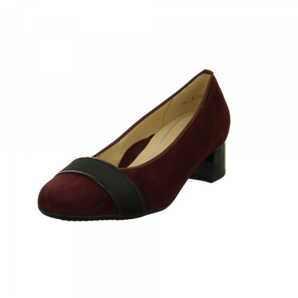 Ara Damen Vicenza Highsoft 16635-05 Roter Veloursleder Pumps Rot / Bordeaux - Bild 1