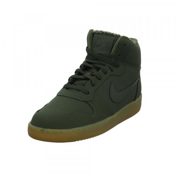 Nike Herren Ebernon Mid SE Grüne Leder/Textil Sneaker Grün - Bild 1