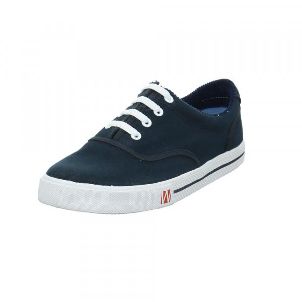Westland Herren Soling Blau Textil Sneaker Blau - Bild 1