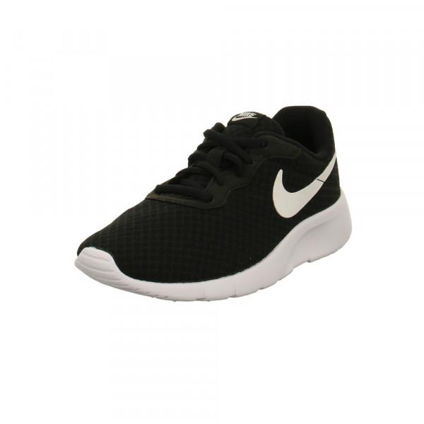 Nike Kinder Tanjun Little Schwarze Mesh Sneaker Schwarz - Bild 1