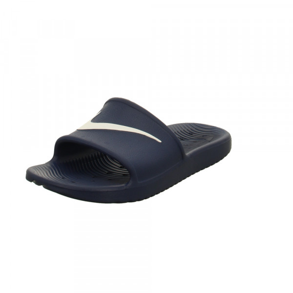 Nike Herren Kawa Shower Slide Blaue Synthetik Pantolette Blau - Bild 1