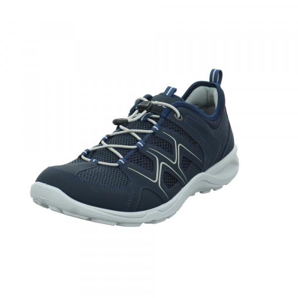 Ecco Herren Terracruise LT M Blauer Synthetik/Textil Sneaker Blau - Bild 1