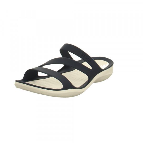 Crocs Damen Swiftwater Sandal W Blaue Synthetik Pantolette Blau - Bild 1