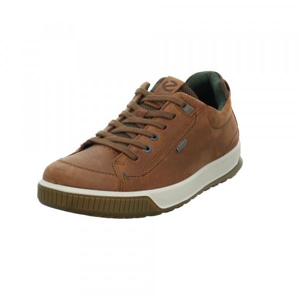 Ecco Herren 501824-02280 Brauner Glattleder Sneaker Braun - Bild 1