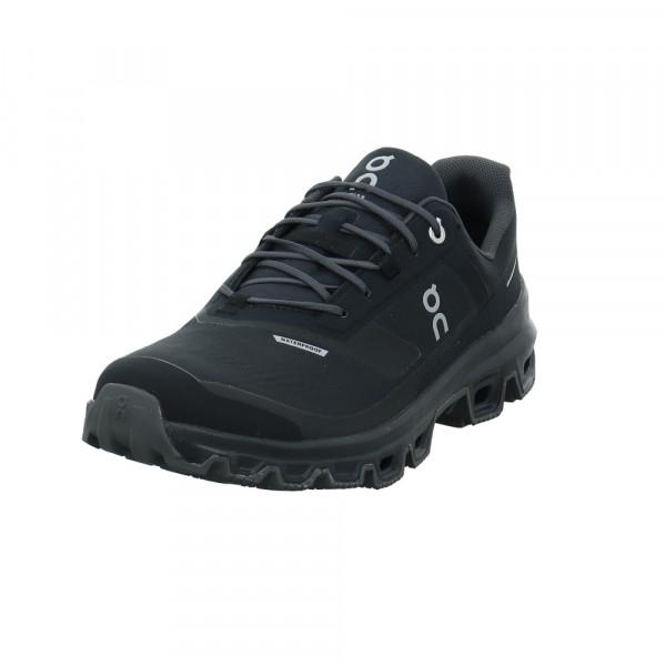 On Herren Cloudventure Wateproof Schwarzer Textil Sneaker - Bild 1