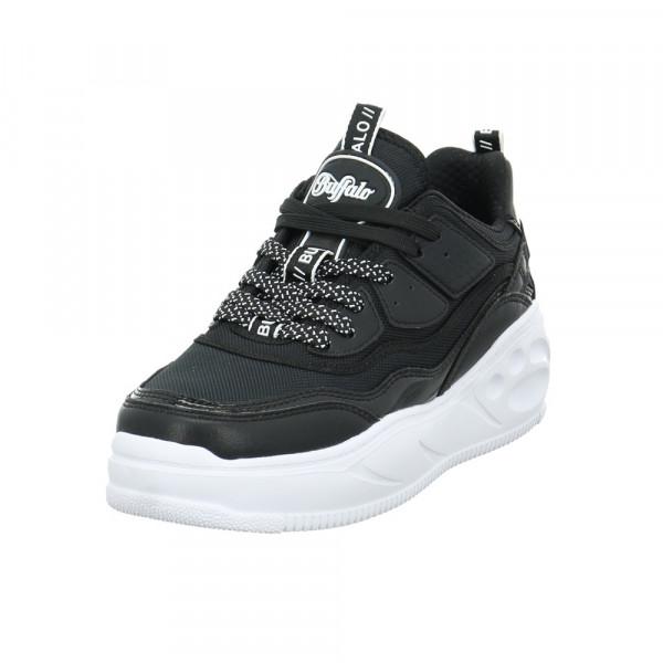 Buffalo Damen Flat CPX Sneaker 1630464 schwarzer Synthetik Sneaker Schwarz - Bild 1