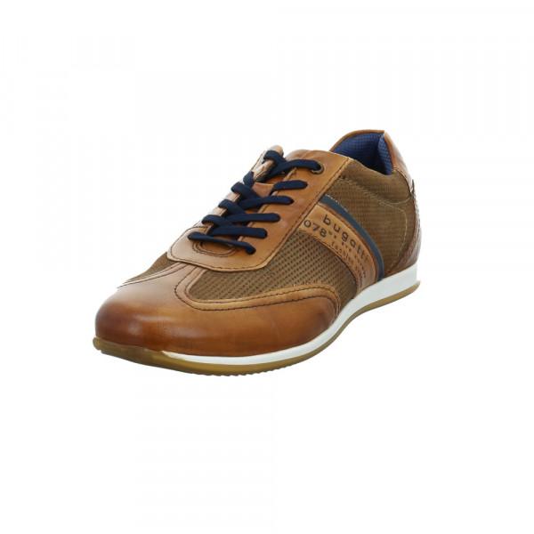 Bugatti Herren 311-45010-4114-6353 Brauner Glatt-/Veloursleder Sneaker Braun - Bild 1