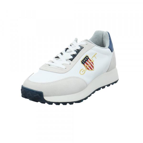 Gant Herren 22639640 Weißer Leder/Textil Sneaker Weiß - Bild 1