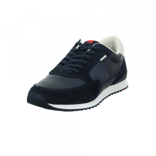 Lloyd Herren Ellard Blau Glattleder Sneaker Blau - Bild 1