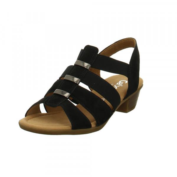 Gabor comfort Damen Kreta Blaue Synthetik Sandalette Blau - Bild 1