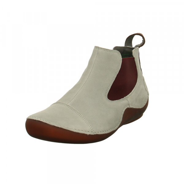 Think Damen Kapsl Graue Glattleder Boots Grau - Bild 1