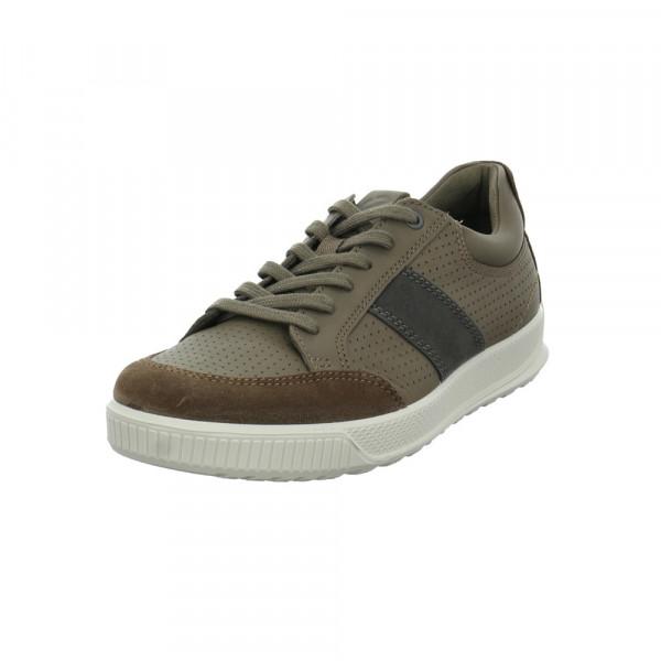 Ecco Herren Byway Braune Glattleder Sneaker Braun - Bild 1