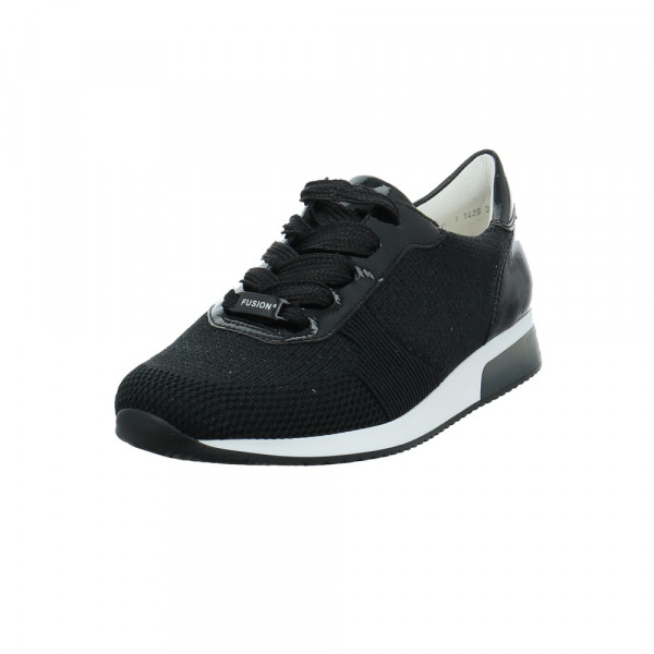 Ara Damen Lissabon Fusion Schwarzer Textil Sneaker Schwarz - Bild 1