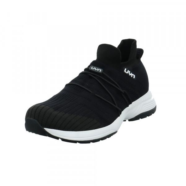 UYN Herren Free Flow Schwarzer Textil Sneaker - Bild 1