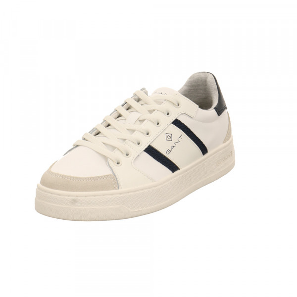 Gant Herren Le Brook Weißer Leder7Textil Sneaker Offwhite - Bild 1