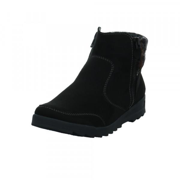 Jenny Damen Cortina 22-64703-61 Schwarze Textil Boots Schwarz - Bild 1