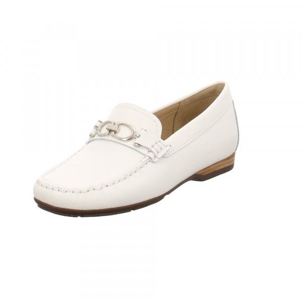 Wirth Damen Lavender 35330-11 Weiße Glattleder Mokassin Weiß - Bild 1