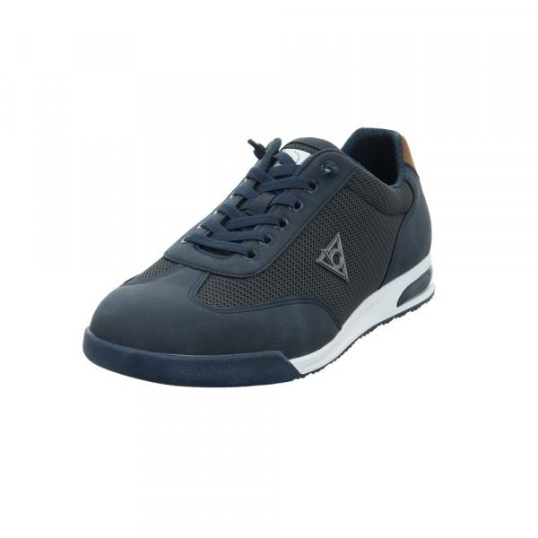 Bugatti Herren Trevor Blauer Synthetik/Textil Sneaker Blau - Bild 1