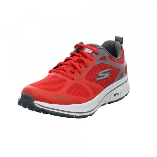 Skechers Herren Gor Run Consistent Fleet Rush Roter Textil Sneaker Rot / Bordeaux - Bild 1