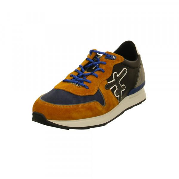 Floris van Bommel Floris Sport 16284-31 Mehrfarbige Veloursleder Sneaker Multicolor - Bild 1