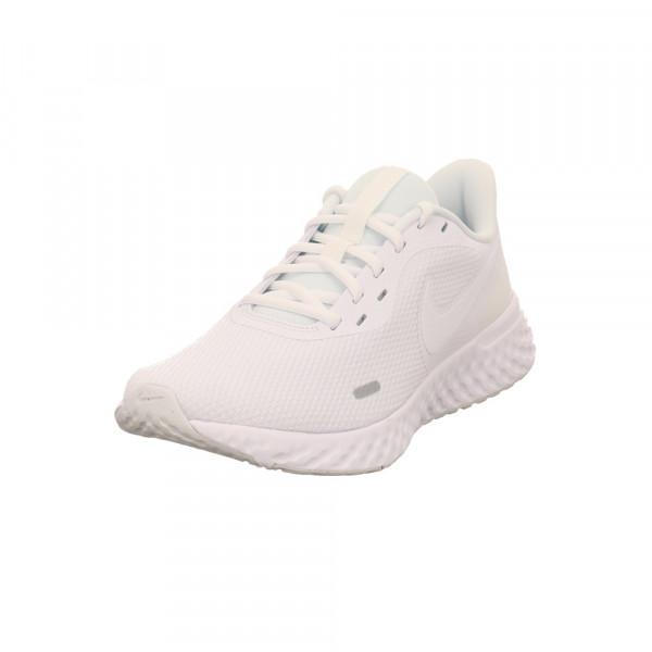 Nike Herren Revolution 5 Weißer Synthetik/Textil Sneaker Weiß - Bild 1