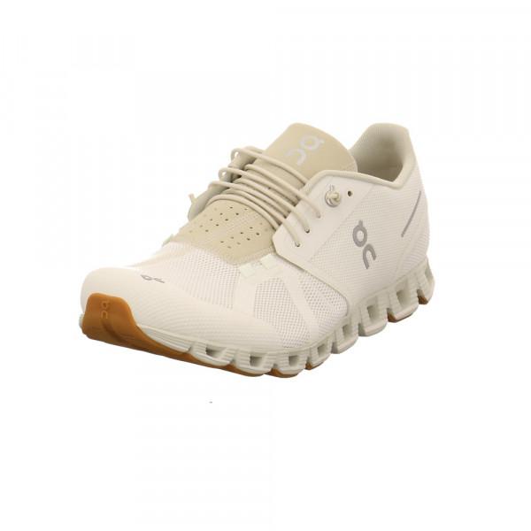 On Herren Cloud Weißer Textil Sneaker Weiß - Bild 1