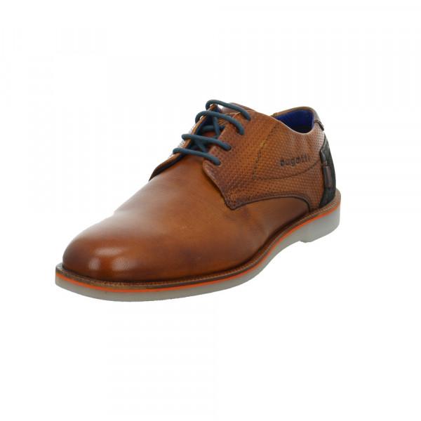 Bugatti Herren 312-64702-4100-6300 Brauner Glattleder Sneaker