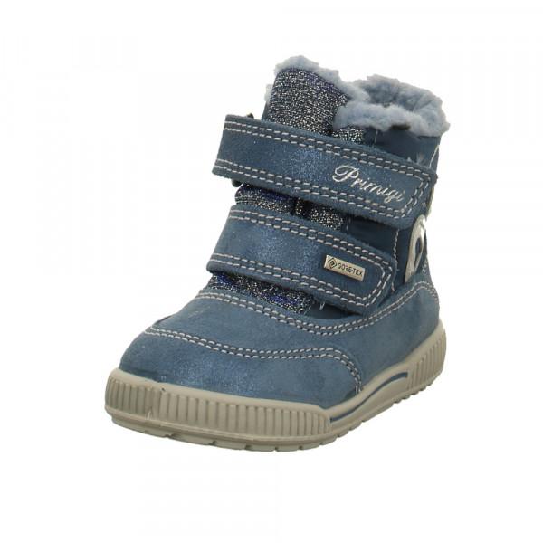Primigi Kinder 4368711 Blaue Nubukleder Winterboots Blau - Bild 1