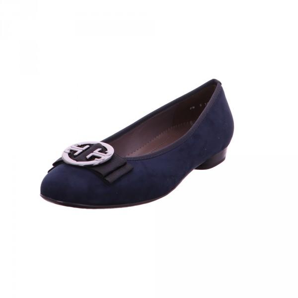 Jenny Damen Pisa Blaue Textil Ballerina Blau - Bild 1