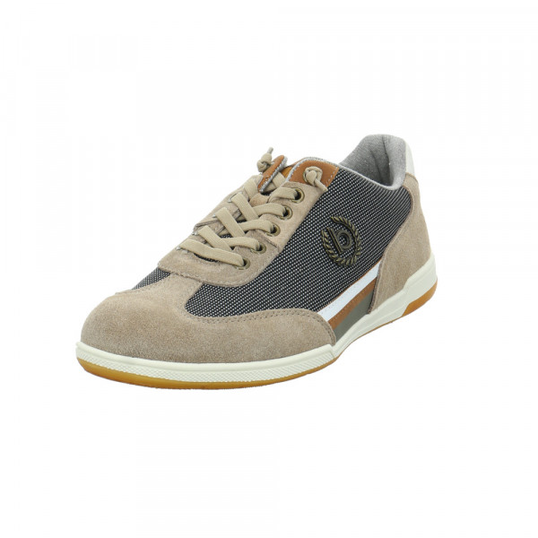 Bugatti Herren Solar Exko Beiger Leder/Textil Sneaker Beige - Bild 1