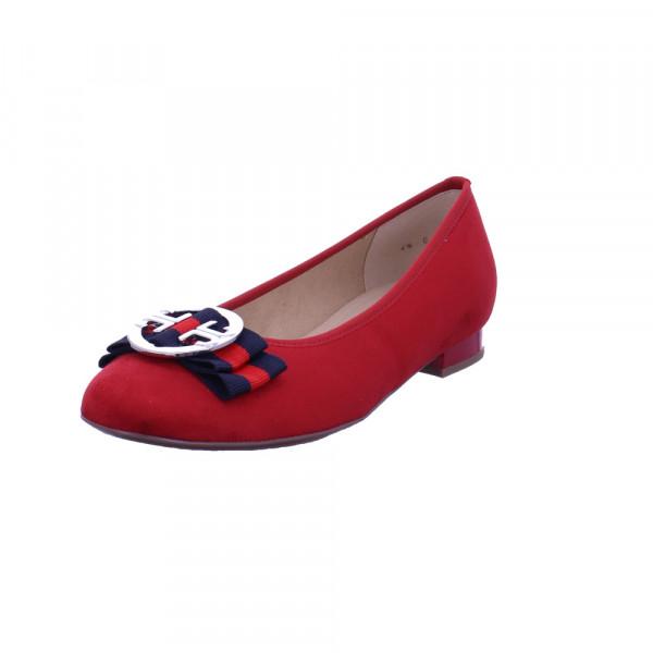 Ara Damen Pisa Roter Textil Ballerina Rot / Bordeaux - Bild 1