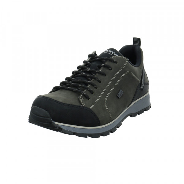 Rieker Herren B5721-01 Grauer Leder-/Synthetik Sneaker - Bild 1