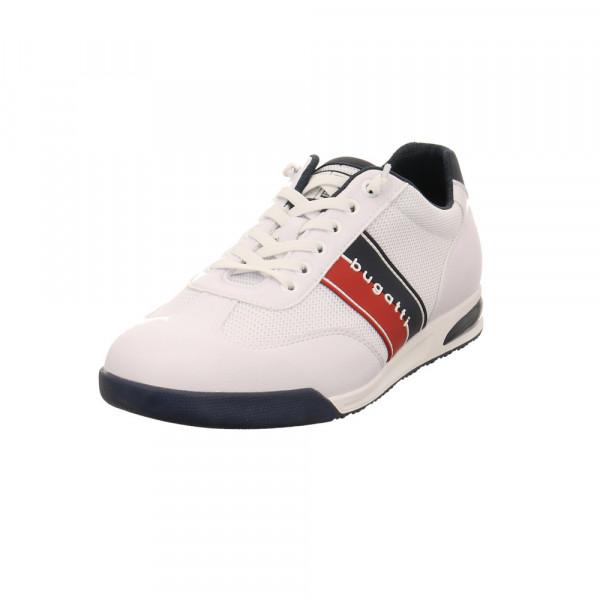 Bugatti Herren Trevor Weißer Synthetik/Textil Sneaker Weiß - Bild 1