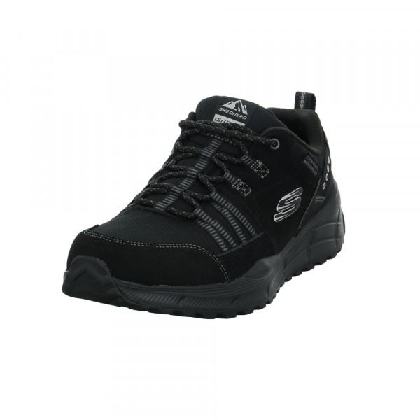 Skechers Herren Relaxed Fit:Equalizer 4.0 Trail Schwarzer Materialkombinierter Sneaker Schwarz - Bild 1