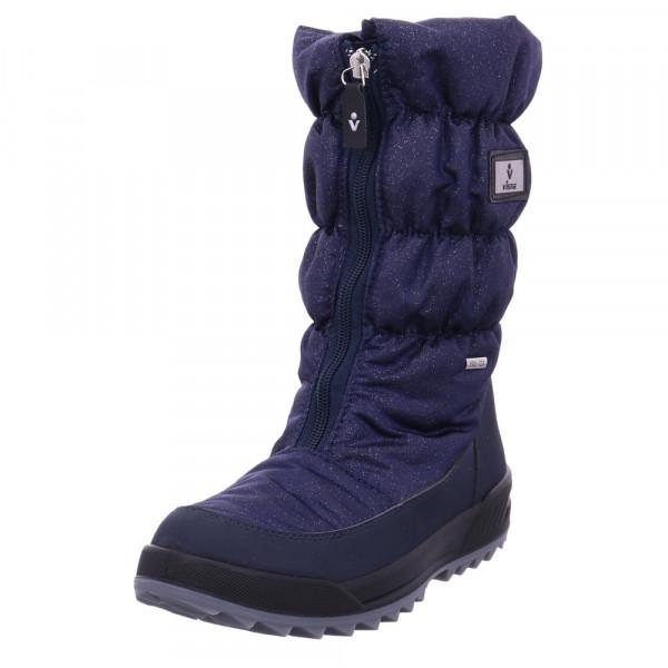 Vista Damen 11-31322 Blaue Textil Schneestiefel Blau - Bild 1