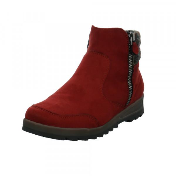 Jenny Damen Cortina Rote Textil Boots Rot / Bordeaux - Bild 1