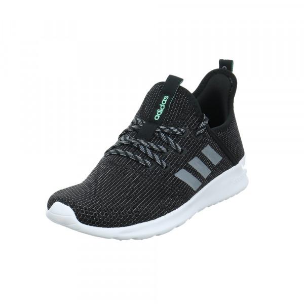Adidas Damen Cloudfoam Pure Schwarzer Textil Sneaker Schwarz - Bild 1