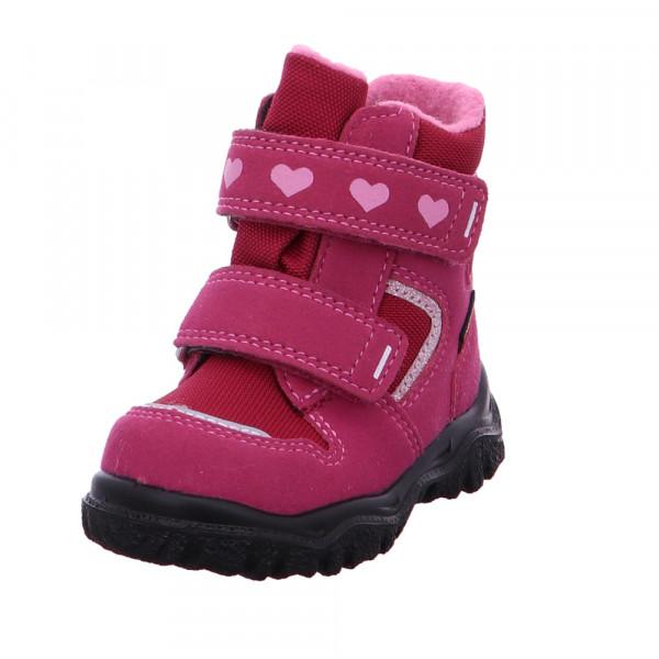 Superfit Kinder Husky 1 Rosa Mesh Schneeboot Pink / Violett - Bild 1