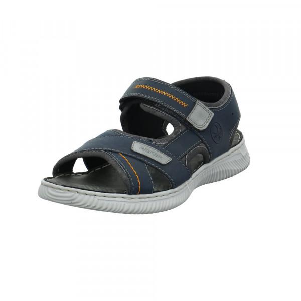 Rieker Herren 28153-14 Blaue Synthetik/textil Sandale - Bild 1