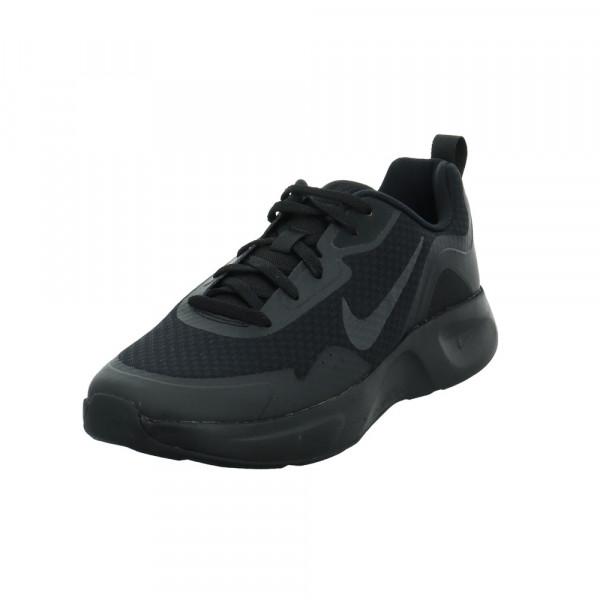 Nike Herren Wearallday Schwarzer Synthetik/Textil Sneaker Schwarz